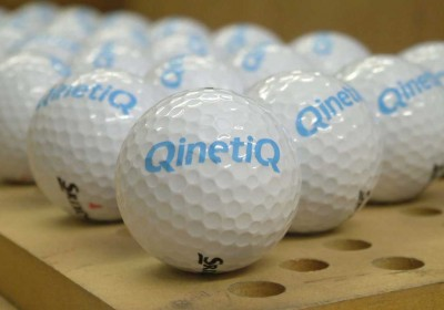 Personalised bespoke custom printed golf ball