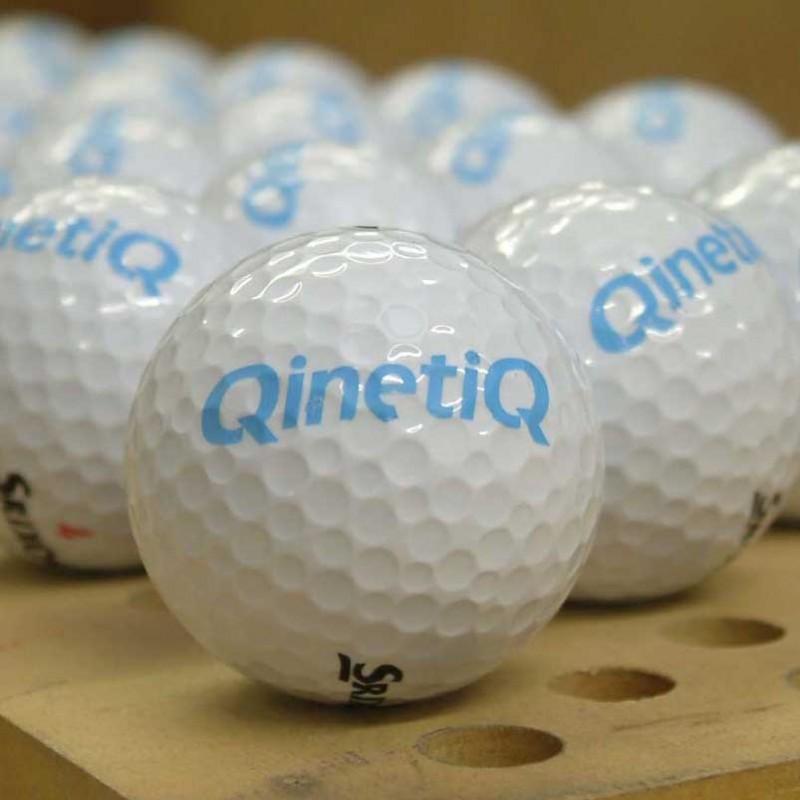 Personalised bespoke custom printed golf ball