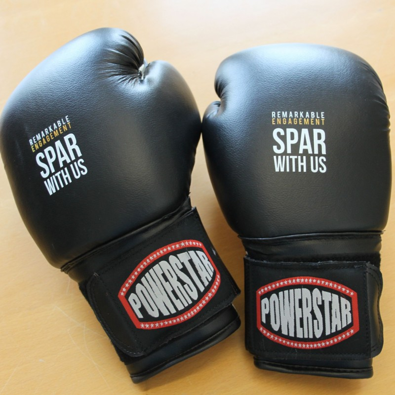 Custom Bespoke Printed Boxing Gloves